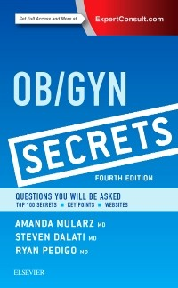 ob gyn secrets 4th ed 洋書 南江堂