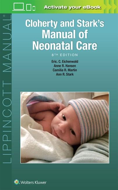 cloherty stark s manual of neonatal care 8th ed 洋書 南江堂