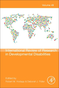 international review of research in developmental disabilities vol