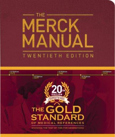 Merck Manual of Diagnosis & Therapy, 20th ed.
