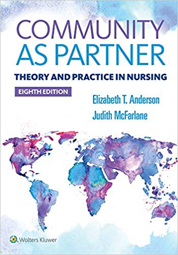 Community as Partner, 8th ed.(Int'l ed.)- Theory & Practice in Nursing