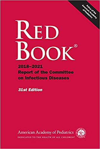 Red Book 2018-2021, paper ed. (31st ed.)- Report of the Committee on Infectious Diseases