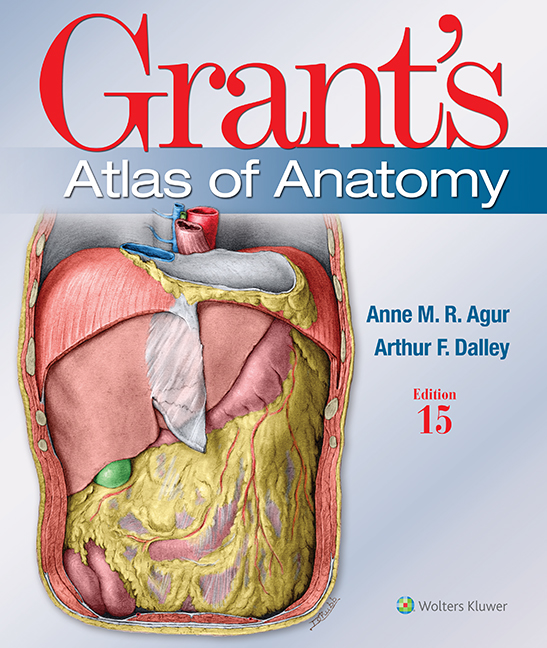 Grant's Atlas of Anatomy, 15th ed.(Int'l ed.)Paperback